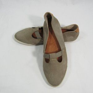 FRYE Flats Shoes Slip On Leather Loafers